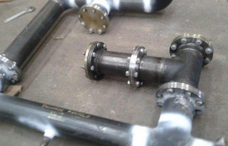 pipe skid fit outs