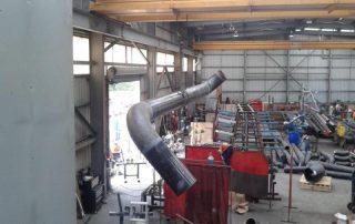 pressure pipe welding