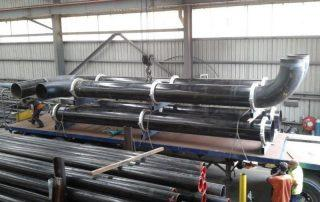 steel pipe fabrication